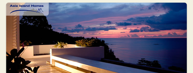 Sunset View from The Plantation Phuket Apartments